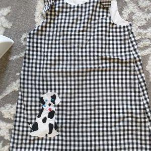 Kelly's Kids gingham dog dress